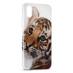 Coque iPhone XR Lionceau