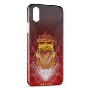Coque iPhone XR Liverpool Football