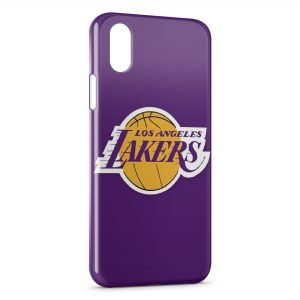 Coque iPhone XR Los Angeles Lakers Basketball
