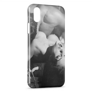 Coque iPhone XR Love is Power 4 Vintage