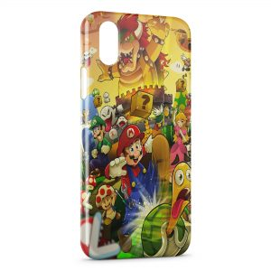 Coque iPhone XR Mario 4
