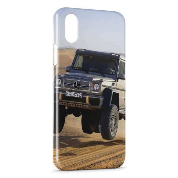 Coque iPhone XR Mercedes Benz G Cross Country 4x4 600x600
