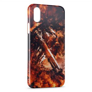Coque iPhone XR Metal Gear Rising Revengeance