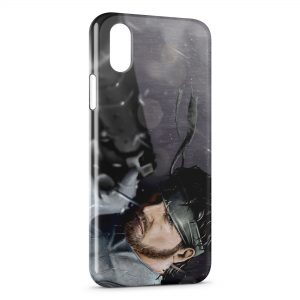 Coque iPhone XR Metal Gear Solid