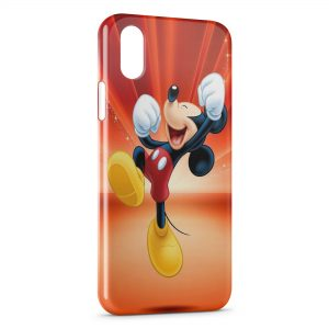 Coque iPhone XR Mickey Happy & Jump