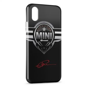 Coque iPhone XR Mini Cooper Voiture Logo