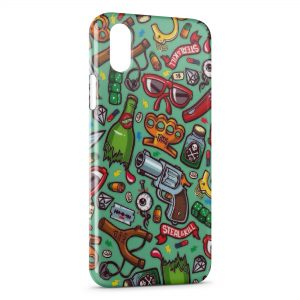 Coque iPhone XR Mini Style Objects