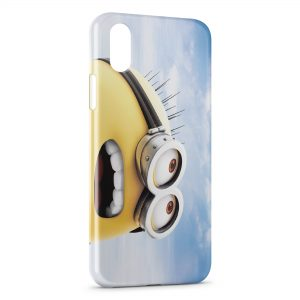 Coque iPhone XR Minion Sky