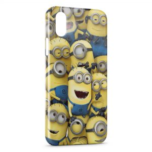 Coque iPhone XR Minions Art Design