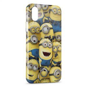 Coque iPhone XR Minions Art Design