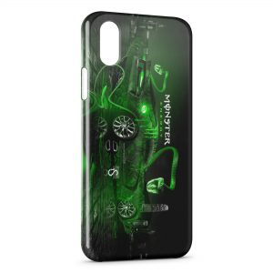 Coque iPhone XR Monster Energy F1