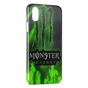 Coque iPhone XR Monster Energy Logo 3