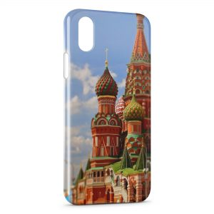 Coque iPhone XR Moscou Russie