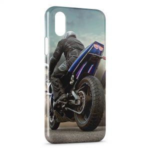 Coque iPhone XR Moto 5
