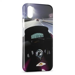 Coque iPhone XR Moto On Board
