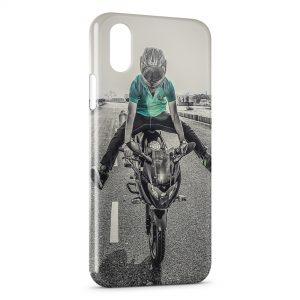 Coque iPhone XR Moto Style