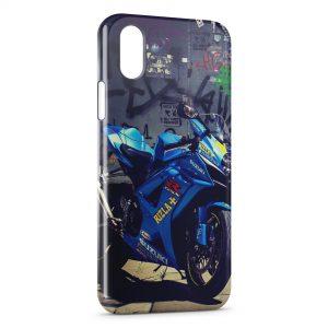 Coque iPhone XR Moto Suzuki 2