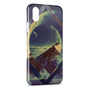 Coque iPhone XR Moutain Design