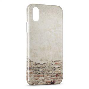Coque iPhone XR Mur ancien