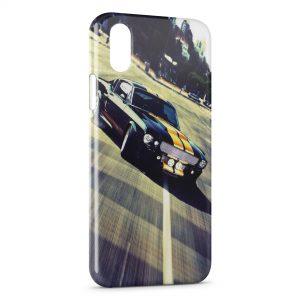 Coque iPhone XR Mustang Design voiture