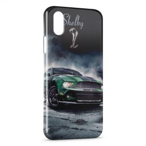 Coque iPhone XR Mustang Shelby