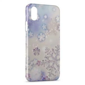 Coque iPhone XR Neige