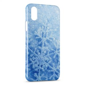 Coque iPhone XR Neige 4