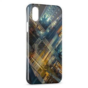 Coque iPhone XR New York City