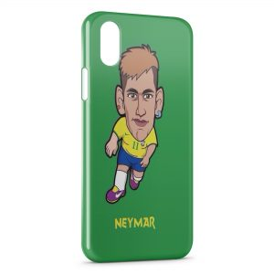 Coque iPhone XR Neymar Football