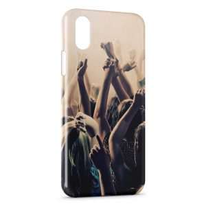 Coque iPhone XR Night Club House