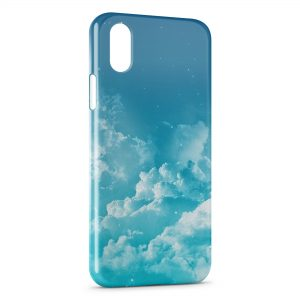 Coque iPhone XR Nuages