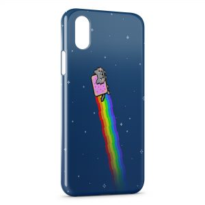 Coque iPhone XR Nyan Cat