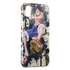 Coque iPhone XR One Piece Manga 11