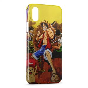 Coque iPhone XR One Piece Manga 14