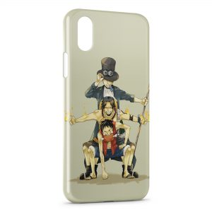 Coque iPhone XR One Piece Manga 28
