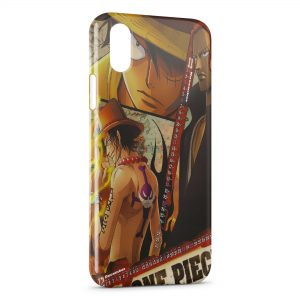 Coque iPhone XR One Piece Manga 32