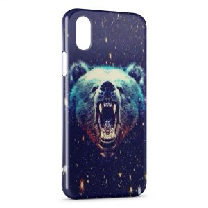 Coque iPhone XR Ours Style