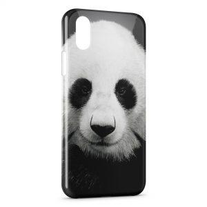 Coque iPhone XR Panda Black White 3
