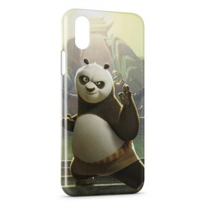 Coque iPhone XR Panda Cartoon