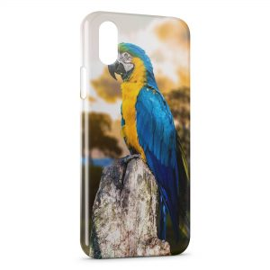 Coque iPhone XR Perroquet