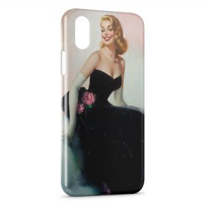 Coque iPhone XR Pin up Painted 2