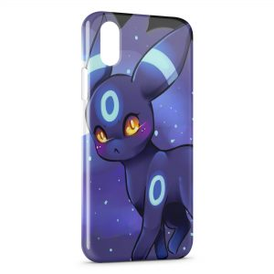 Coque iPhone XR Pokemon Violet Design