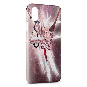 Coque iPhone XR Red Angel Manga