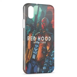 Coque iPhone XR Red Hood Jason Todd