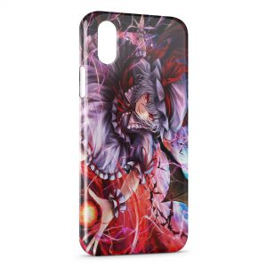 Coque iPhone XR Remilia Scarlet Manga 2