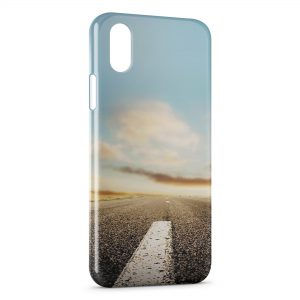 Coque iPhone XR Road Style
