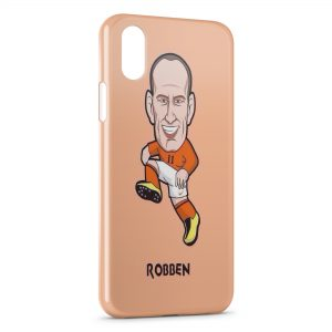 Coque iPhone XR Robben Football