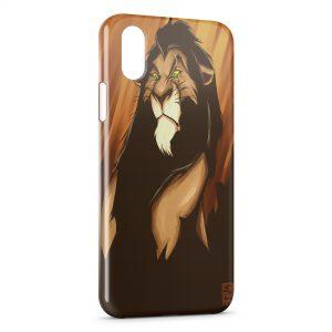 coque iphone xr disney roi lion