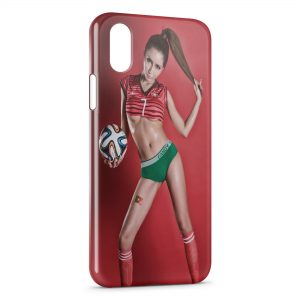 Coque iPhone XR Sexy Girl Portugal 2