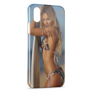 Coque iPhone XR Sexy Girl Surf